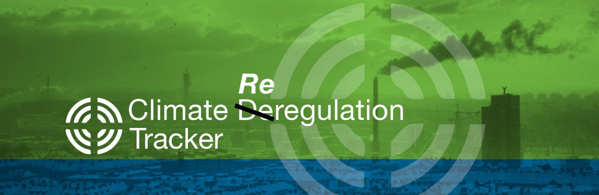Climate Reregulation Tracker