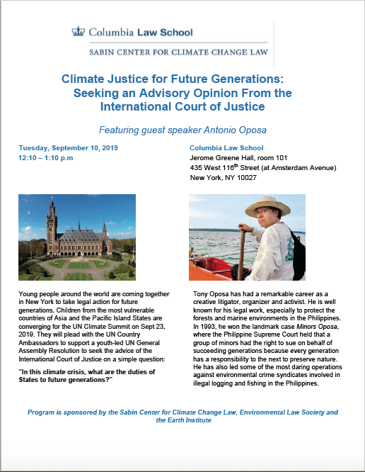 """climate justice"""